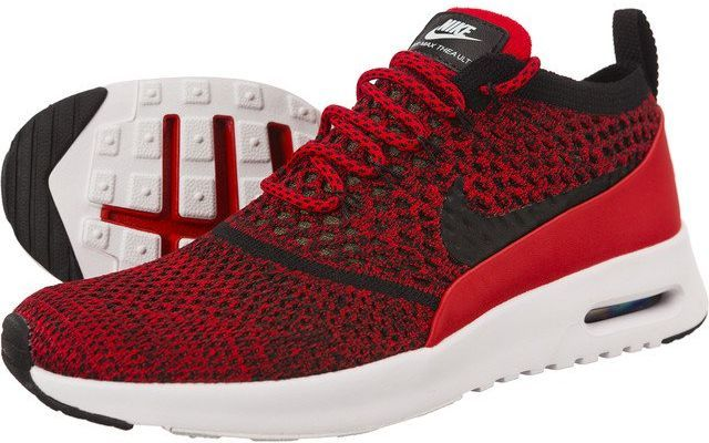 Nike Buty damskie Air Max Thea Ultra Flyknit czerwone r. 37.5 (881175 601) ID produktu: 5328514