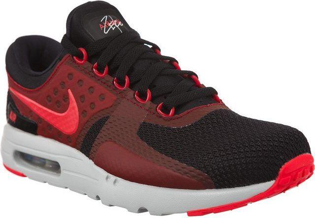 4b405a3a33 Nike Buty męskie Air Max Zero Essential czerwono-czarne r. 46 (876070-007)  w Sklep-presto.pl