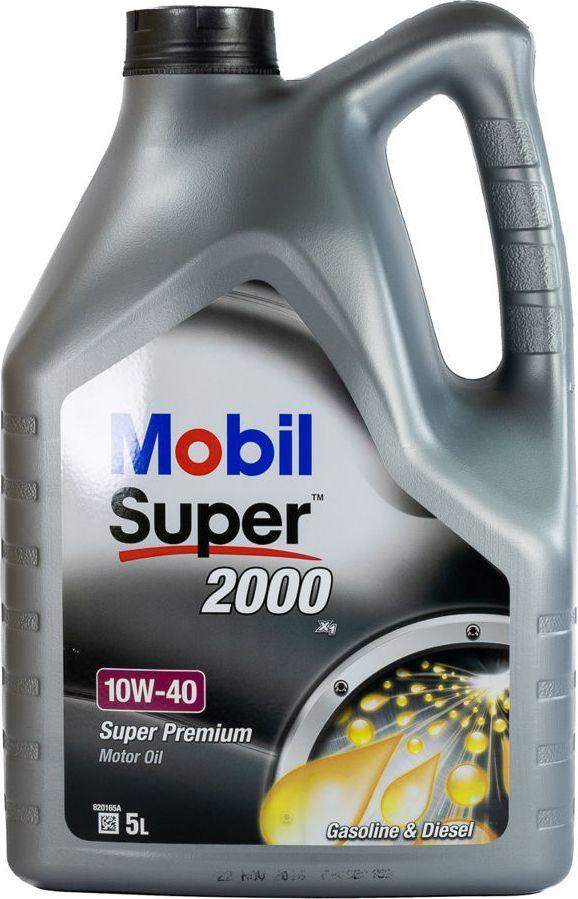 Olej silnikowy Mobil OLEJ MOBIL 10W40 5L 2000X1 / 229.1 / 501.01 505.00 1