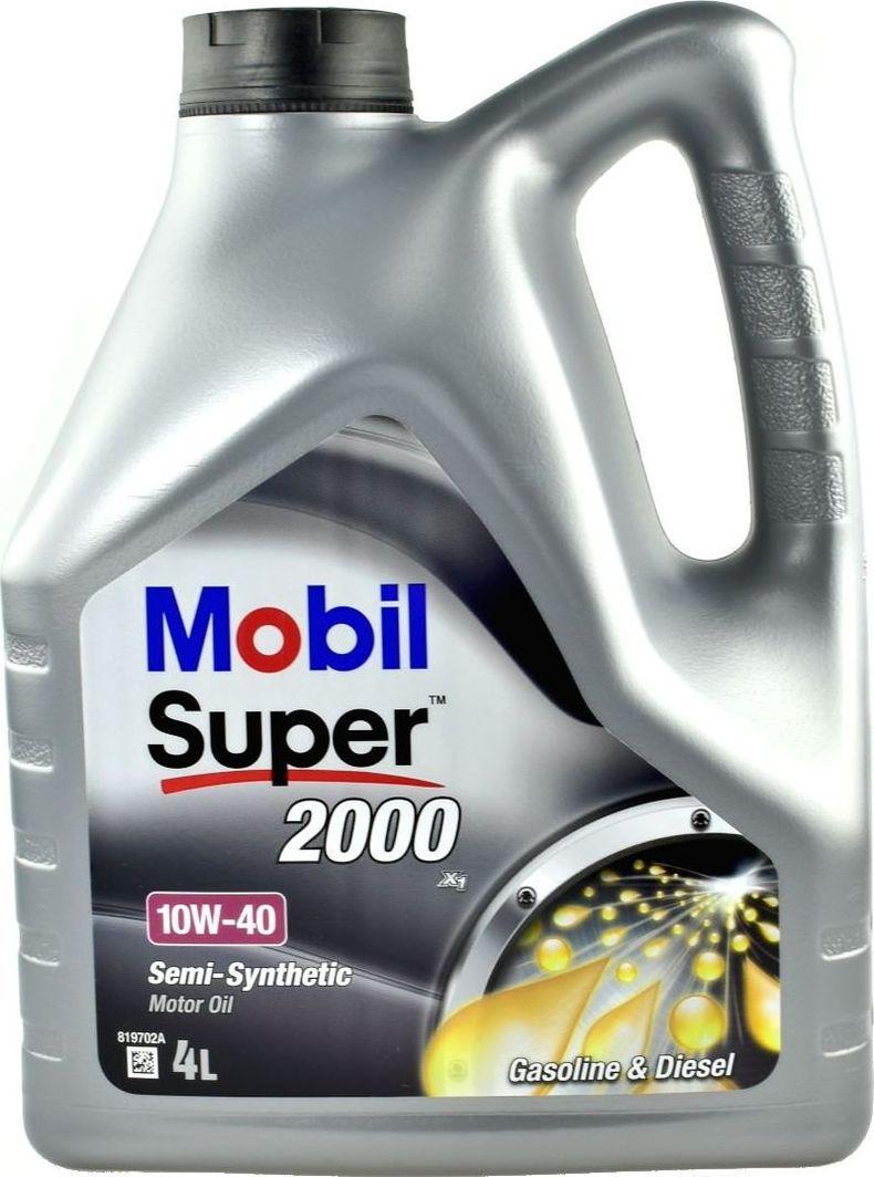 Olej silnikowy Mobil OLEJ MOBIL 10W40 4L 2000X1 / 229.1 / 501.01 505.00 1