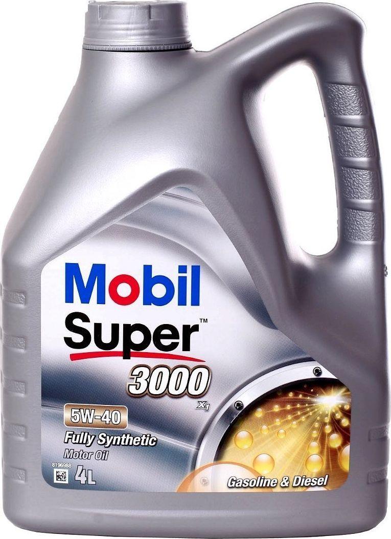 Olej silnikowy Mobil OLEJ MOBIL 5W40 4L 3000X1 / 502.00 505.00 / 229.3 1
