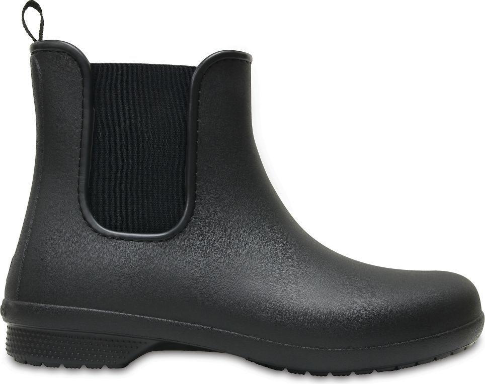Crocs Kalosze damskie Freesail Chelsea Boot black/black r. 38.5 1