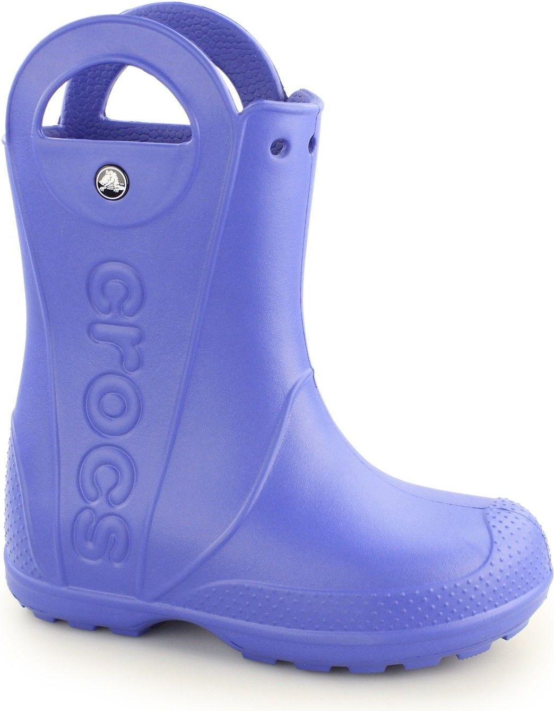 Crocs Kalosze dziecięce Handle Rain Boot cerulean blue r. 29-30 (12803) 1