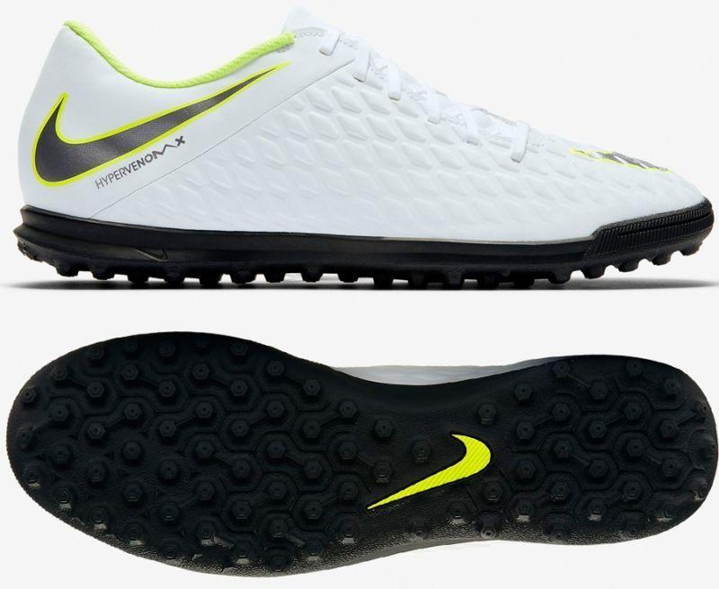 f21de7c83 Nike Buty piłkarskie Hypervenom Phantomx 3 Club TF M białe r. 42 1 2  (AJ3811-107) w Sklep-presto.pl
