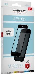 MyScreen Protector LITE Glass Edge Huawei Mate 10 Lite białe (159832) 1
