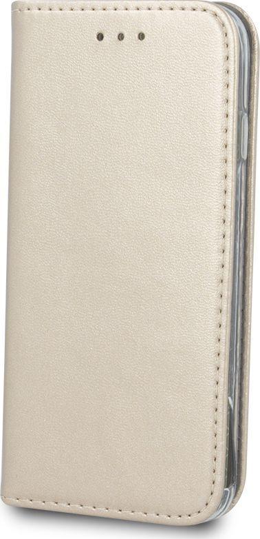 TelForceOne Pokrowiec Smart Magnetic do Samsung J6 Plus złoty 1