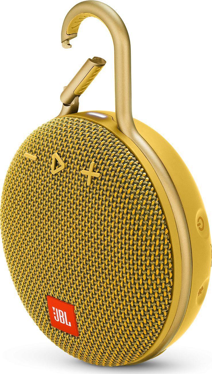 Głośnik JBL Clip 3 żółty (JBLCLIP3YEL) 1