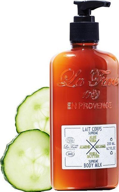 La Fare 1789 Mleczko do ciała Supreme Body Milk Aloe Vera & Macadamia & Almond & Shea Butter 200ml 1