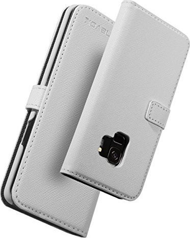 Nevox nevox ORDO Bookcase Samsung Galaxy S9 weiß-grau 1