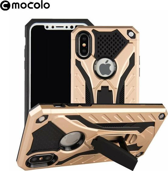 Mocolo ONYX DEFENCE CASE SAMSUNG GALAXY S9 PLUS ZŁOTE 1