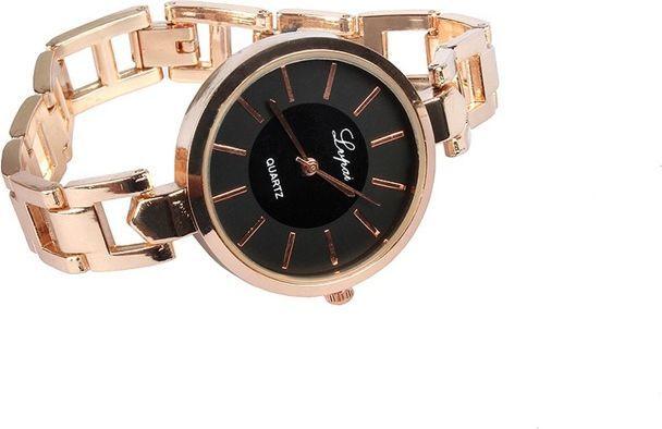 Zegarek GSM City Złoto-czarny 1