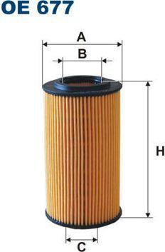 Filtron FILTR OLEJU CHRYSLER PT CRUISER 2.2CRD 02- 1