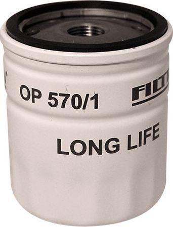 Filtron Filtr Oleju Astra 1.4-2.0 16V 00 (OP570/1) 1