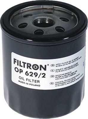 Filtron Filtr Oleju Ford Focus III /C-MAX/ B-MAX /Mondeo (OP629/2) 1