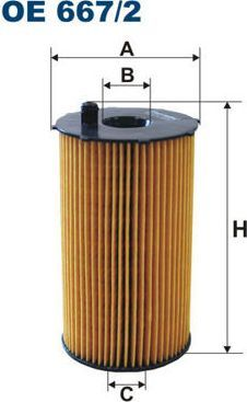 Filtron FILTR OLEJU PEUGEOT 407 2.7 V6 HDI 05- 1