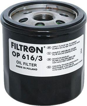 Filtron Filtr Oleju VAG 1.2-1.6TSI TFSI 15 (OP616/3) 1