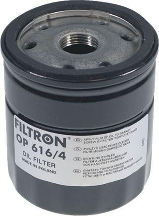 Filtron Filtr Oleju Polo 1.9TDI 14-(OP616/4) 1