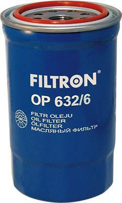 Filtron Filtr Oleju Hyundai Santa FE 2.2CRDI 06-(OP632/6) 1
