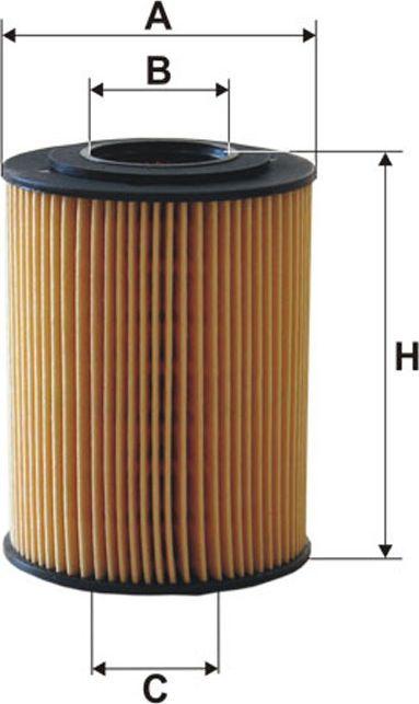 Filtron Filtr Oleju Corsa D 1.7CDTI 06-(OE648/8) 1