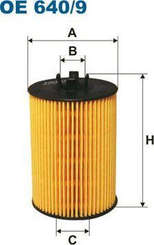 Filtron FILTR OLEJU DB W169 A150-A200 04- 1