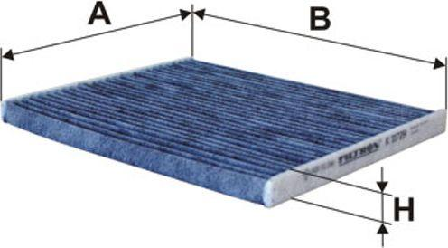Filtron Filtr Kabinowy Węglowy Grande Punto 05-(K1172A) 1