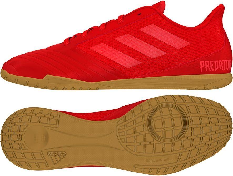ab4034f79 Adidas Buty piłkarskie Predator 19.4 IN Sala M czerwone r. 44 2/3 (D97976)  w Sklep-presto.pl