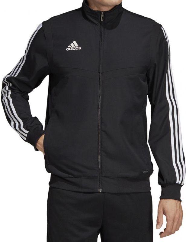 094687e03cf16b Adidas Bluza piłkarska Tiro 19 PRE JKT M czarna r. XXL (DJ2591) w Sklep -presto.pl