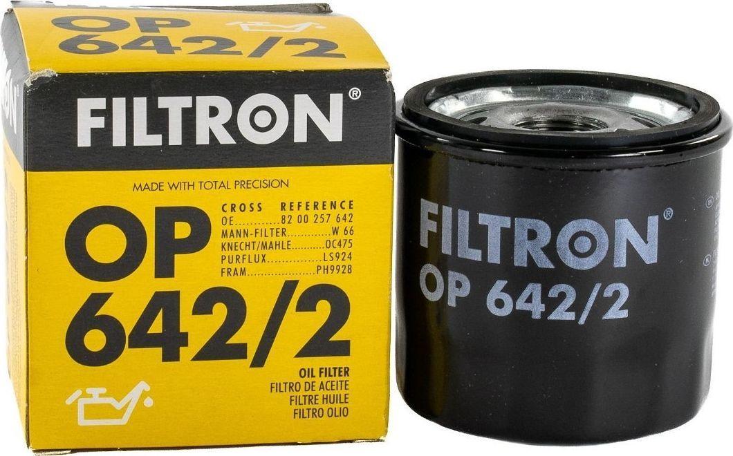 Filtron 642/2 OP FILTR OLEJU RENAULT ZAMIENNIK 642 1