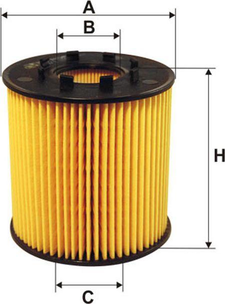 Filtron Filtr Oleju Renault (OE666/1) 1