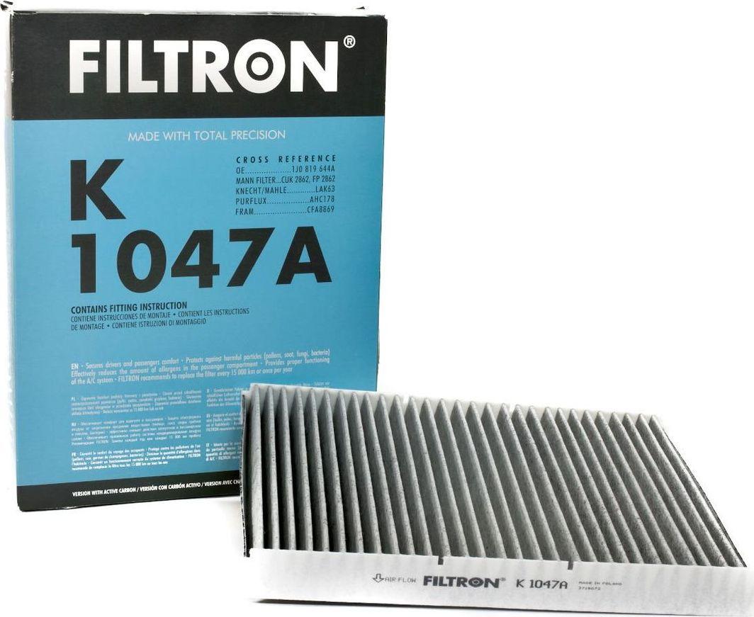 Filtron 1047A K FILTR PYŁK KAB VW 1