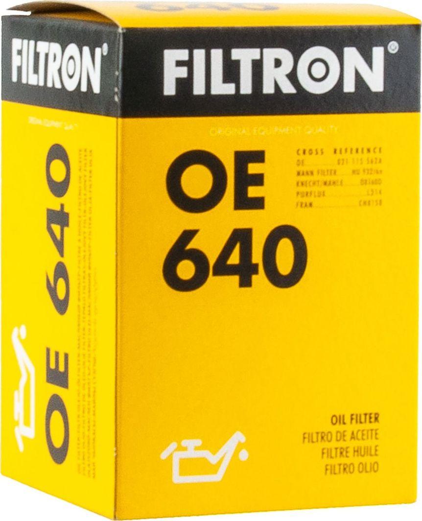 Filtron 640 OE FILTR OLEJU FORD,VW 1