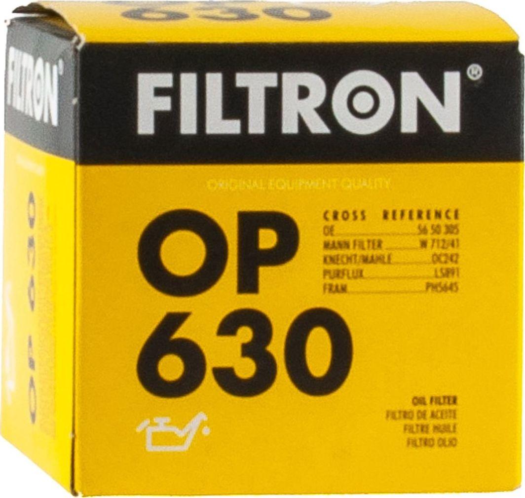 Filtron 630 OP FILTR OLEJU OPEL 1