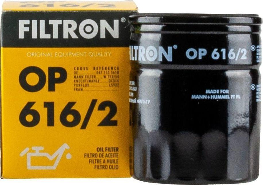 Filtron 616/2 OP FILTR OLEJU SKODA,VW 1