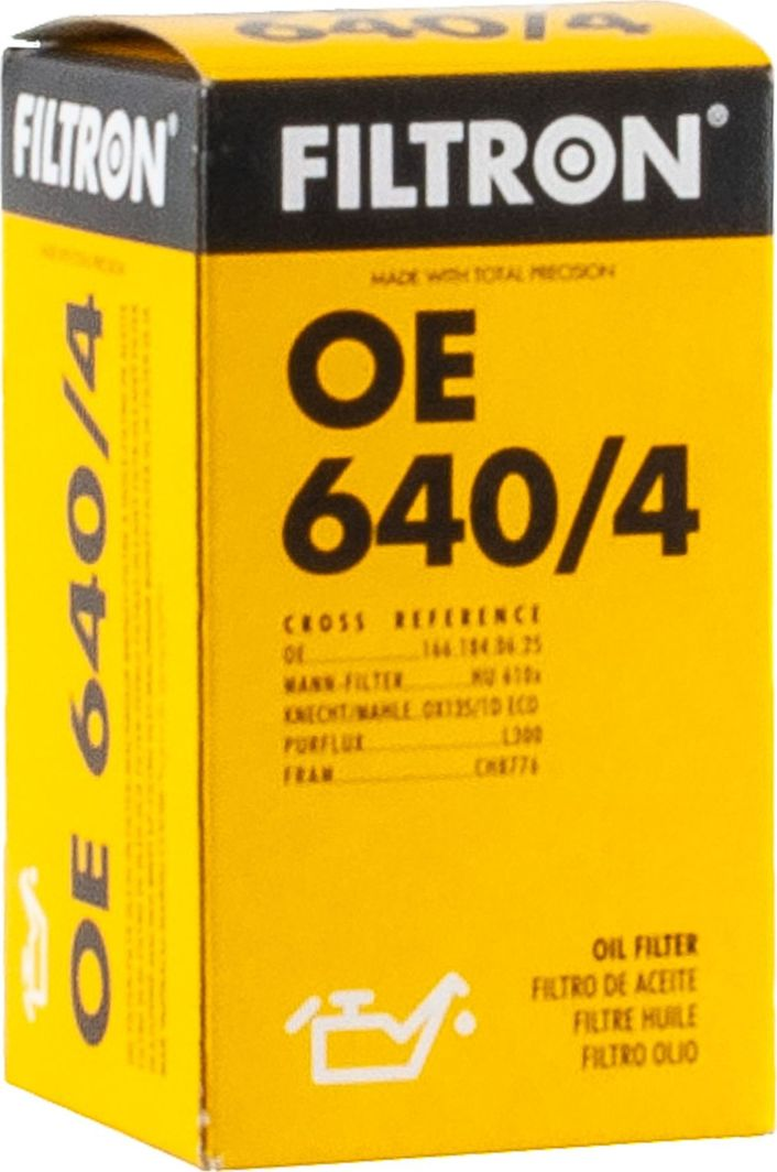 Filtron 640/4 OE FILTR OLEJU MERCEDES 1