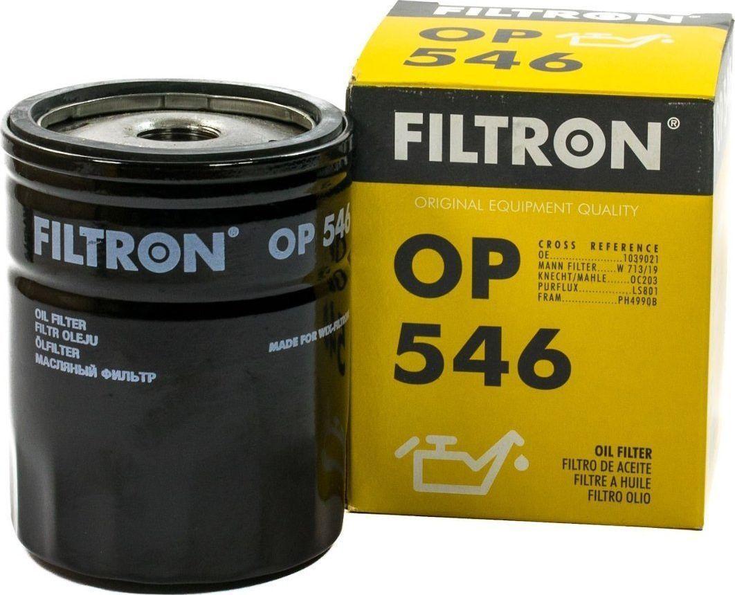 Filtron 546 OP FILTR OLEJU FORD,LADA,MAZDA 1