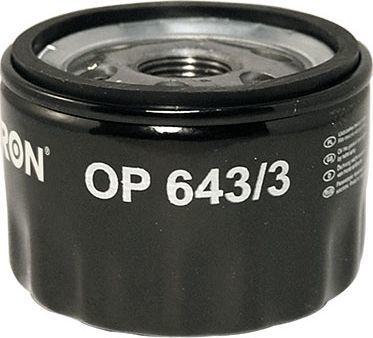 Filtron Filtr Oleju OPEL/RENAULT/SUZUKI (OP643/3) 1