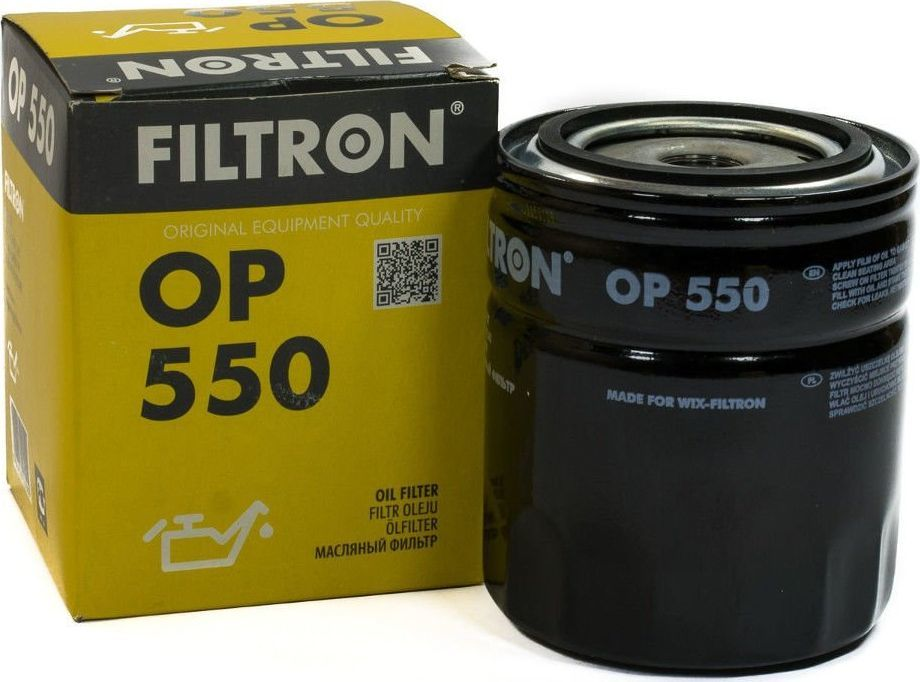 Filtron FILTR OLEJU FILTRON OP550 ŻUK 1