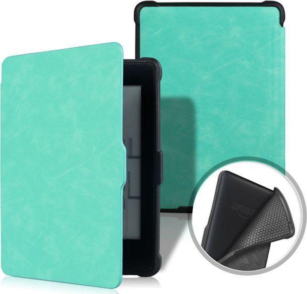 Pokrowiec Alogy Etui Alogy Smart Case Kindle Paperwhite 1/2/3 Turkusowe uniwersalny 1
