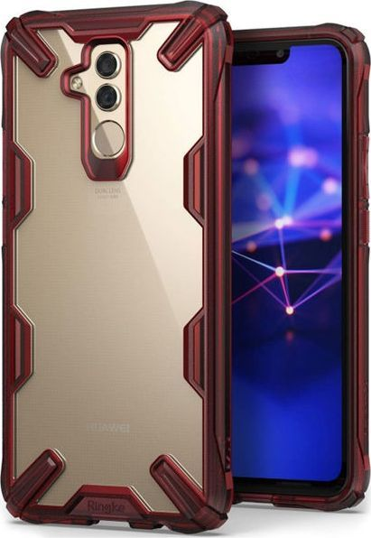 Ringke Etui Ringke Fusion X Huawei Mate 20 Lite Ruby red uniwersalny 1