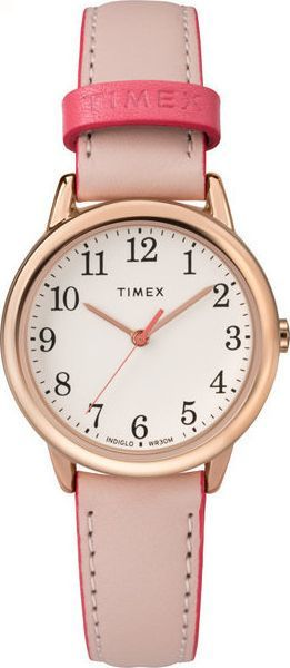 Zegarek Timex Easy Reader Color Pop TW2R62800 Indiglo damski różowy 1