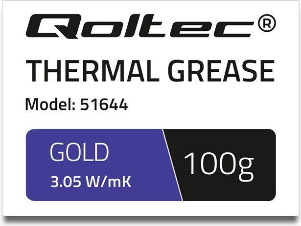 Qoltec Pasta termoprzewodząca 100g  (51644) 1