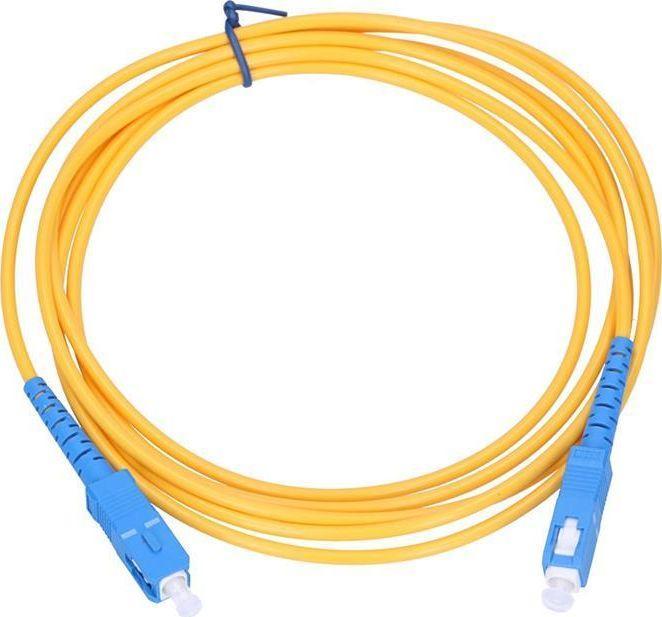 ExtraLink Patchcord światłowodowy SC/UPC - SC/UPC, 3m 1