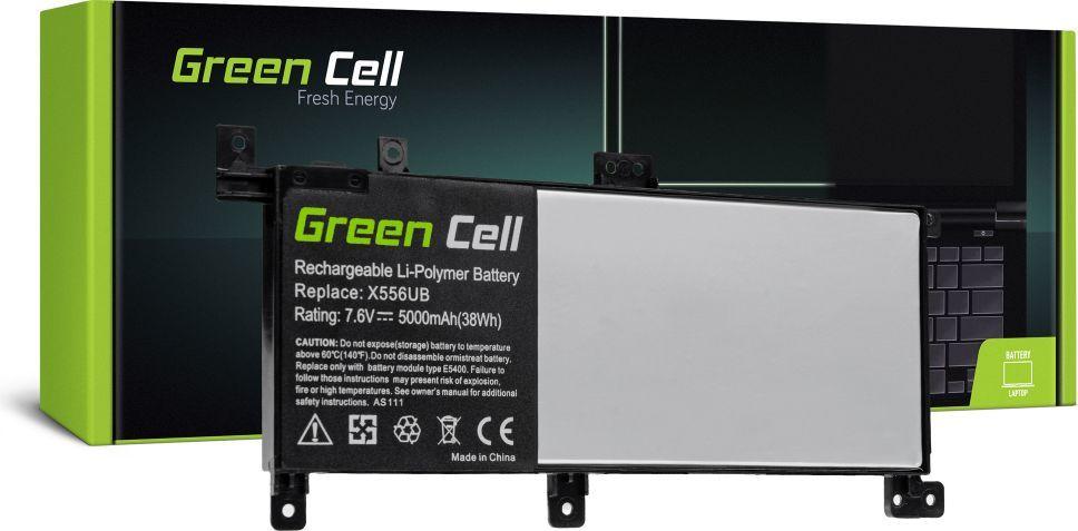 Bateria Green Cell C21N1509 do Asus X556U X556UA X556UB X556UF X556UJ X556UQ 1