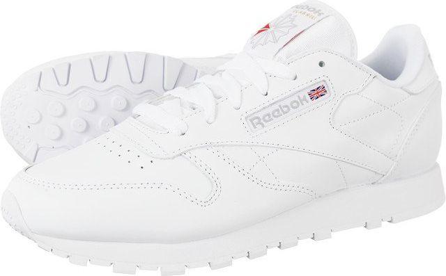 dfab7919 Reebok Buty damskie Classic Leather 232 białe r. 40.5 w Sklep-presto.pl