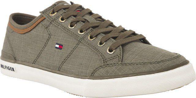 6361ec3628ea5 Tommy Hilfiger Buty męskie Core Material Mix Sneaker zielone r. 40  (M0FM01332-011) w Sklep-presto.pl