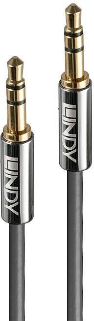 Kabel Lindy Jack 3.5mm - Jack 3.5mm 10m srebrny (35325) 1