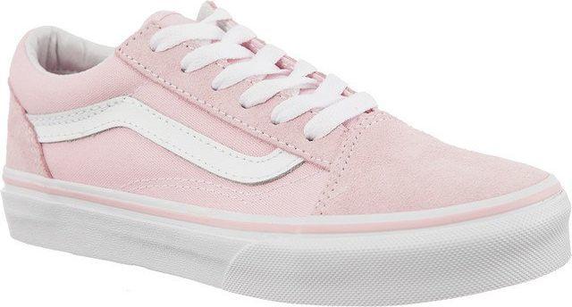 Vans Buty dziecięce Old Skool SuedeCanvas różowe r. 30 ID produktu: 5376599