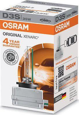 Osram ŻARÓWKA XENON D3S 42V 35W PK32D-5 XENARC ORIGINAL OSRAM 66340/4150K/ 1
