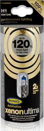RING RING ZAROWKA H1 12V 55W XENON ULTIMA 1