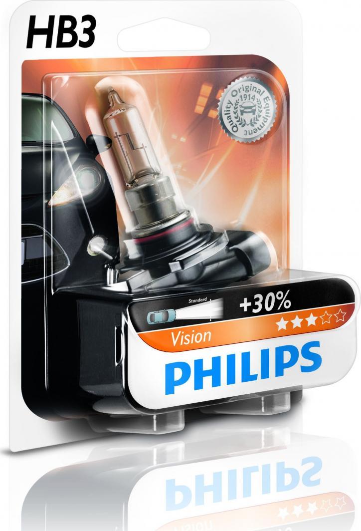 Philips Żarówka HB3 Vision 12V 60W P20D 1